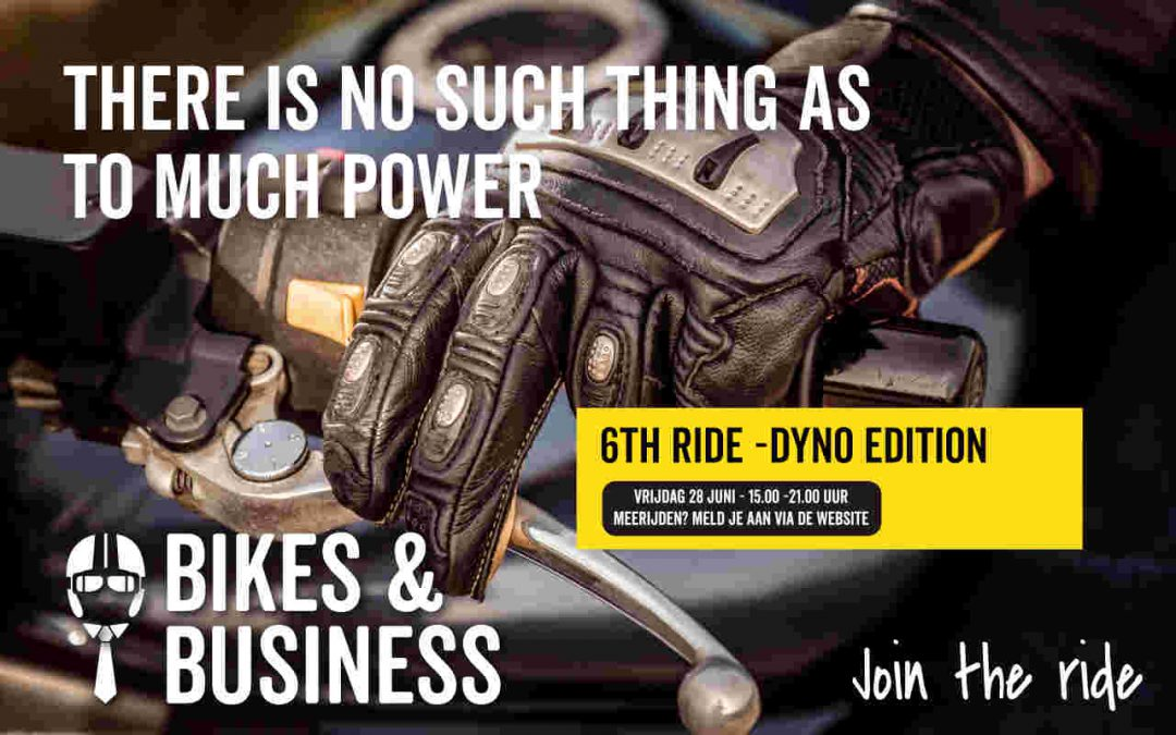 28 juni | 6th Ride regio Zuidoost Dyno edition