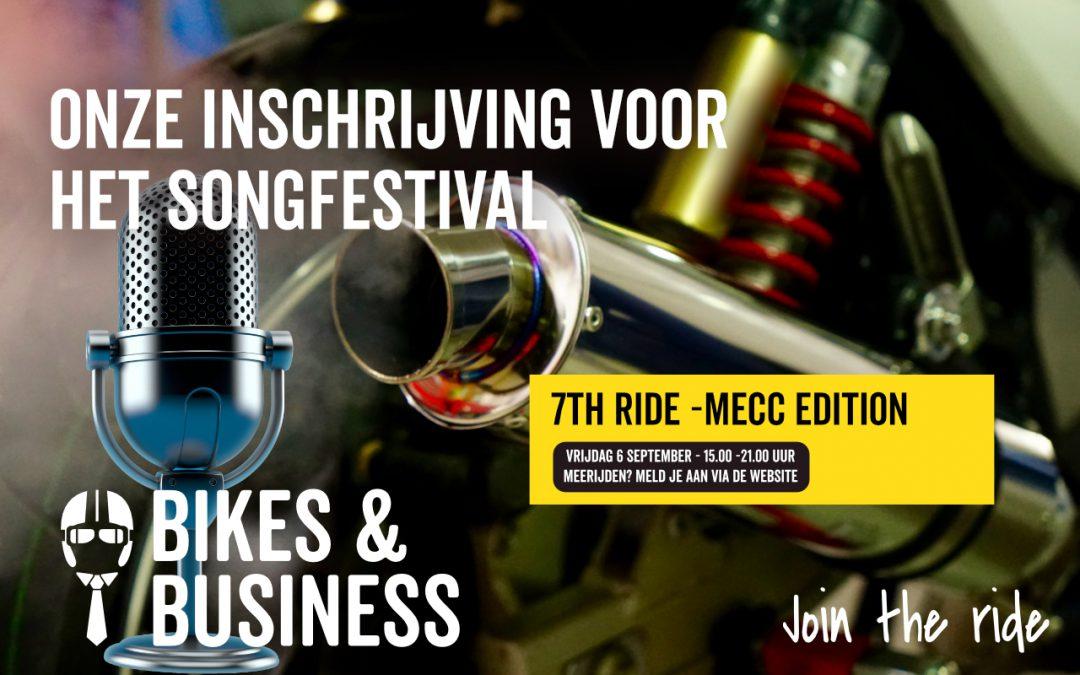 6 september | 7th Ride regio Mecc edition